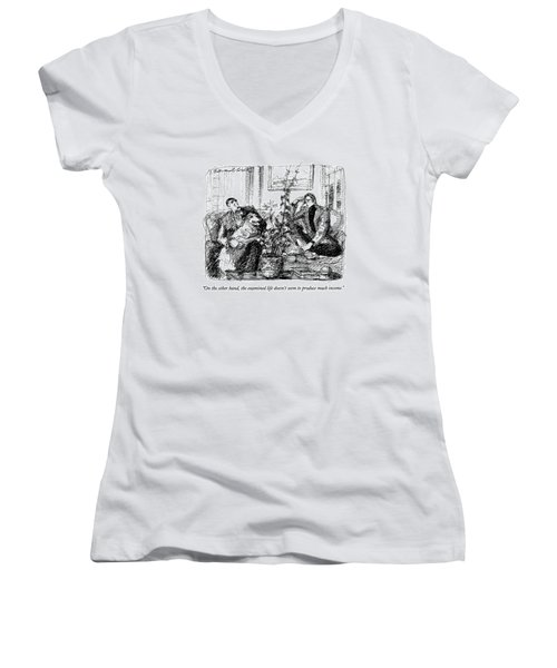 On The Other Hand Women's V-Neck