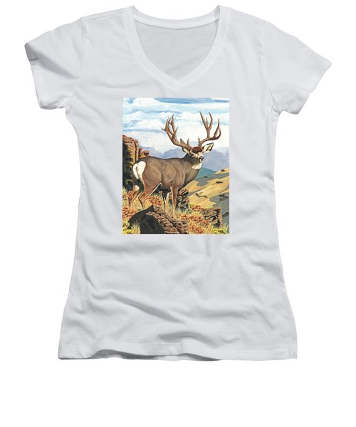 One Last Look Women's V-Neck T-Shirt