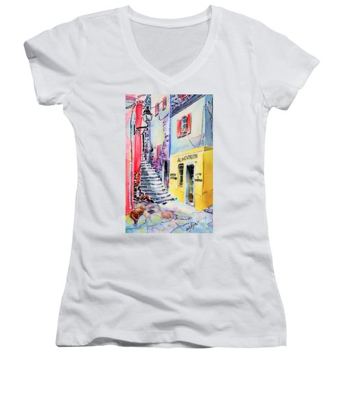 One Spring Day Women's V-Neck