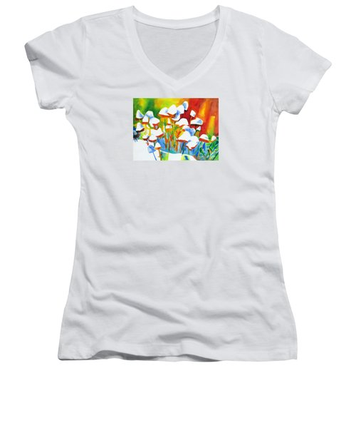 Opposites Attract Women's V-Neck (Athletic Fit)