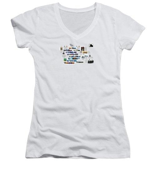 Origin8ing Women's V-Neck T-Shirt