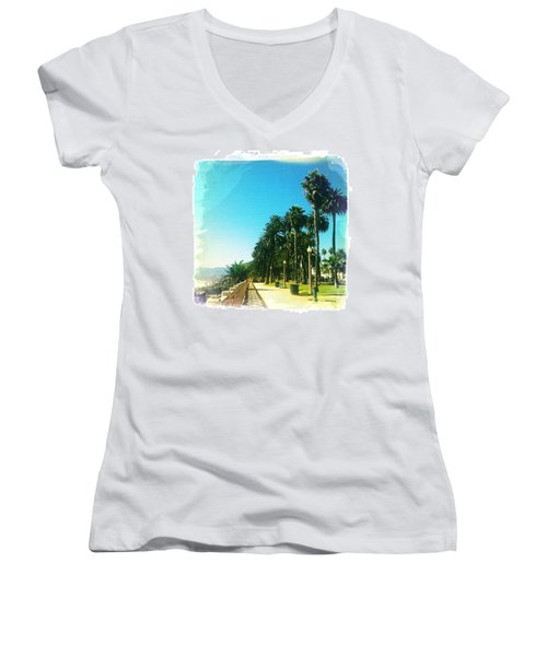 Palisades Park Women's V-Neck T-Shirt