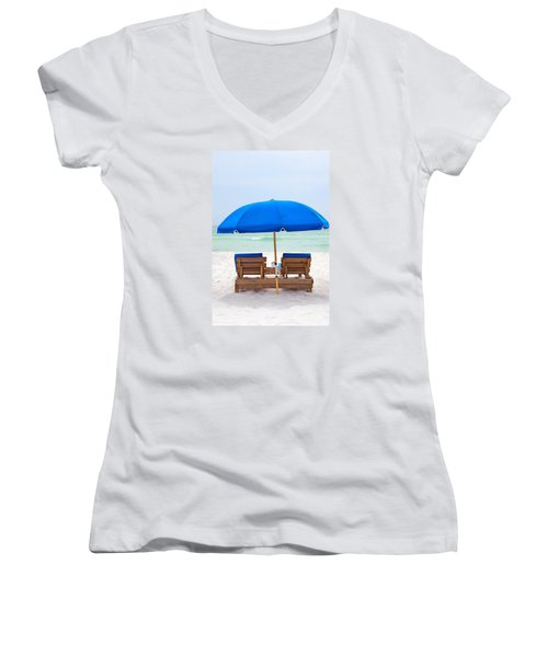 Panama City Beach Florida Women's V-Neck T-Shirt