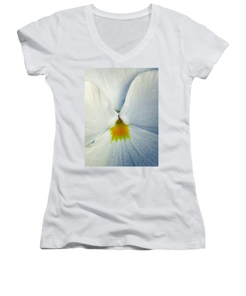 Pansy Flower 19 Women's V-Neck T-Shirt
