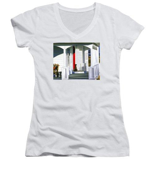 Patience Women's V-Neck T-Shirt