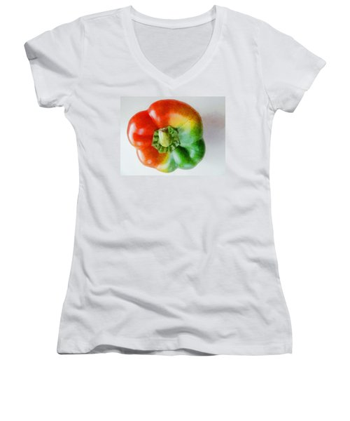Peppery Allsorts  Women's V-Neck T-Shirt