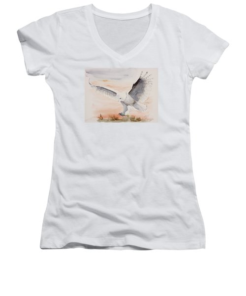 Perfect Landing Women's V-Neck (Athletic Fit)