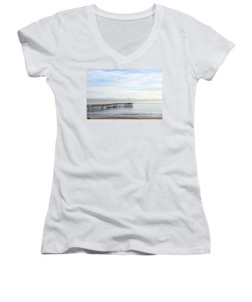 Pier Women's V-Neck T-Shirt
