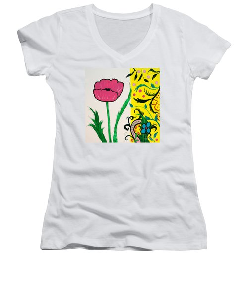 Pink Poppy And Designs Women's V-Neck