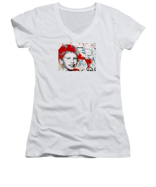 Pippi Longstocking  Women's V-Neck