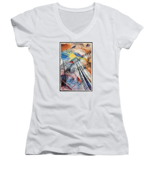 Point Of View Women's V-Neck T-Shirt
