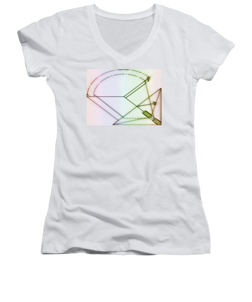Point-out Projection Women's V-Neck