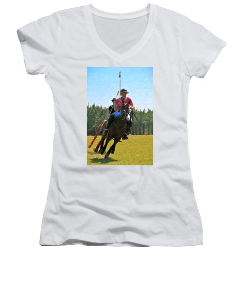Polo Women's V-Neck T-Shirt