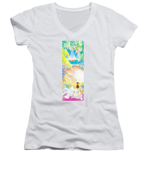 Precious Morning Women's V-Neck