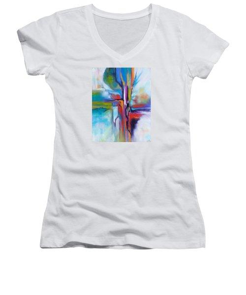 Prendere Il Volo Women's V-Neck T-Shirt