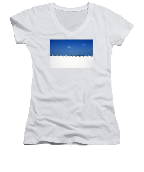 Pristine Clearwater Women's V-Neck T-Shirt