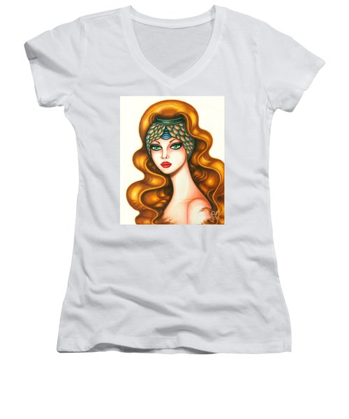 Radiant Women's V-Neck T-Shirt
