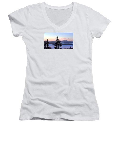 Reaching Higher Women's V-Neck T-Shirt