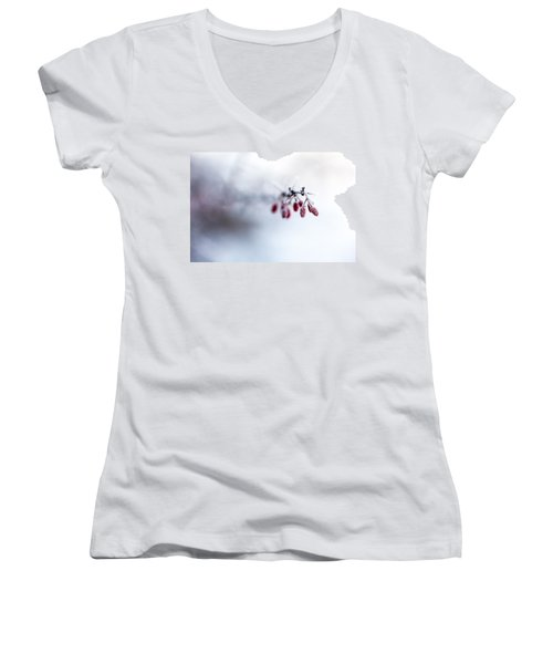 Reaching Out Women's V-Neck T-Shirt