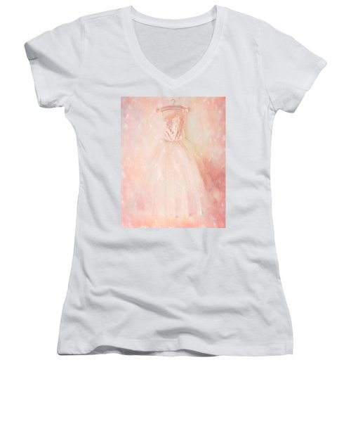 Ready For The Magic Women's V-Neck T-Shirt