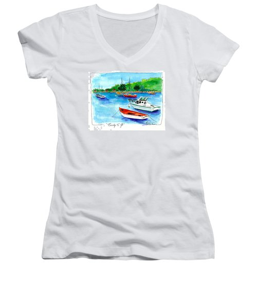 Ready To Go Women's V-Neck