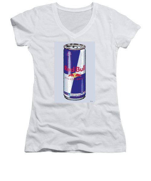 Red Bull Ode To Andy Warhol Women's V-Neck