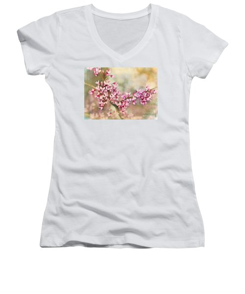 Welcome Spring Women's V-Neck T-Shirt