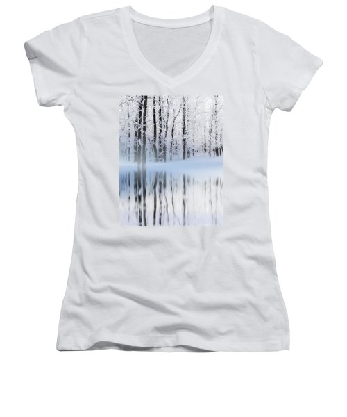 Reflection On A Dream Collingwood, On Women's V-Neck