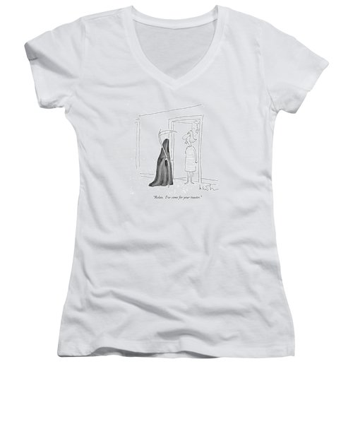 Relax.  I've Come For Your Toaster Women's V-Neck