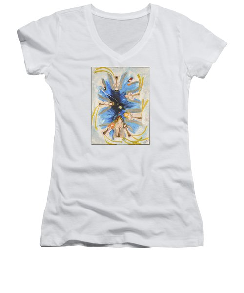 Revelation 8-11 Women's V-Neck T-Shirt