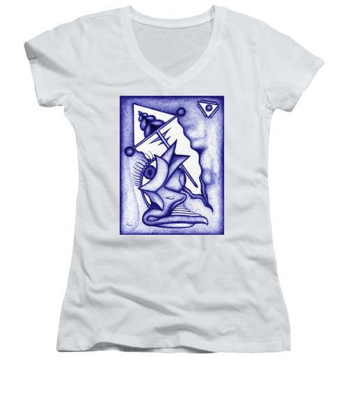 Ripple Women's V-Neck