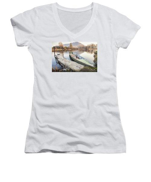 River Boat Women's V-Neck (Athletic Fit)