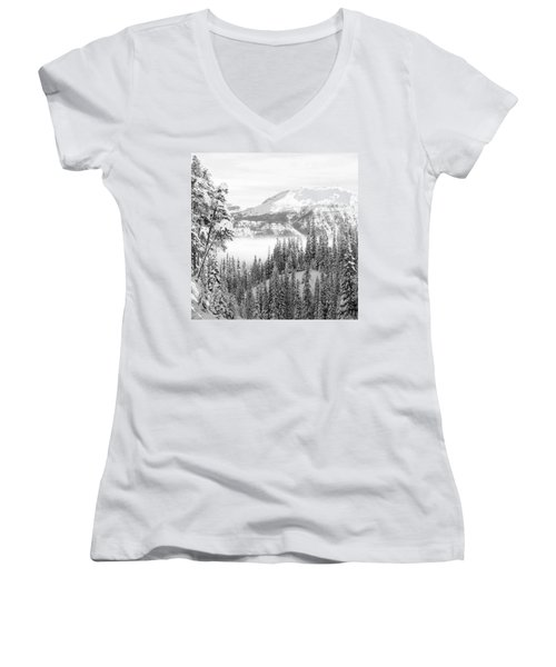 Rocky Mountain Vista Women's V-Neck T-Shirt