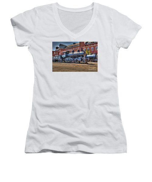 Rogers #299 Women's V-Neck T-Shirt (Junior Cut) by Anthony Sacco
