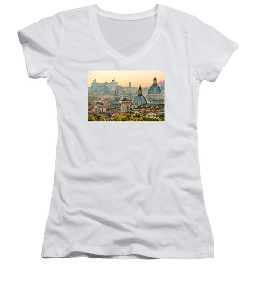 Rome - Italy Women's V-Neck T-Shirt