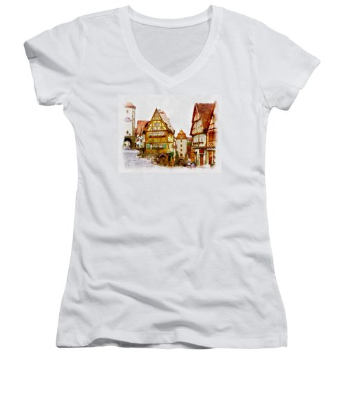 Rothenburg Women's V-Neck (Athletic Fit)
