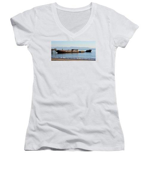 S. S. Palo Alto Women's V-Neck T-Shirt