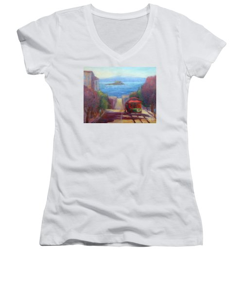 San Francisco Hills Women's V-Neck