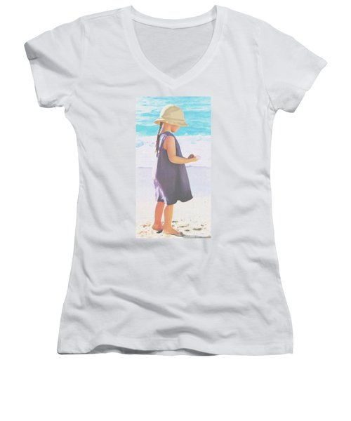 Seaside Treasures Women's V-Neck (Athletic Fit)