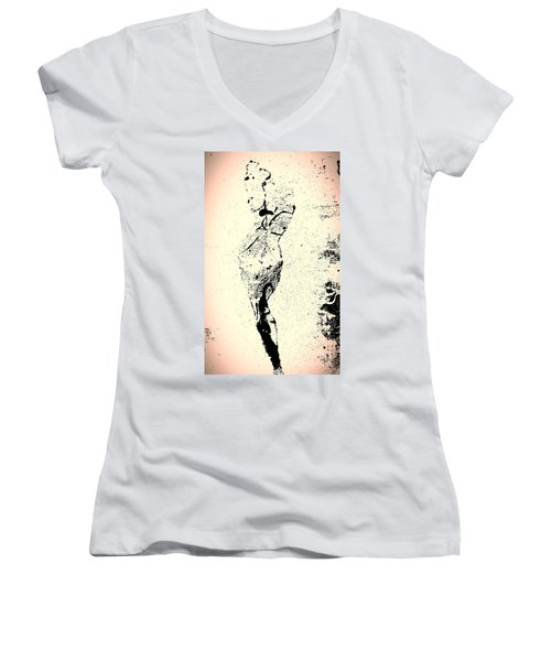 Self Realization Women's V-Neck T-Shirt (Junior Cut) by Jacqueline McReynolds