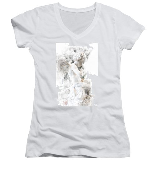 Shhhhh Women's V-Neck T-Shirt