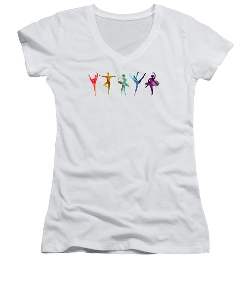 Simply Dancing 3 Women's V-Neck