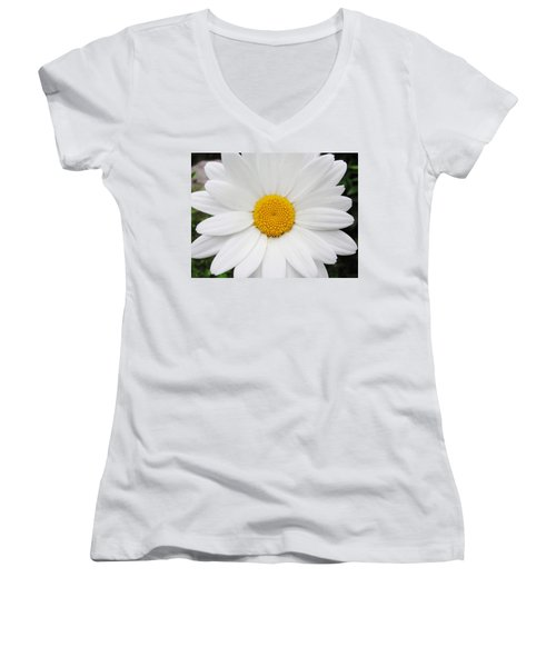 Women's V-Neck T-Shirt (Junior Cut) featuring the photograph Simply by Natalie Ortiz