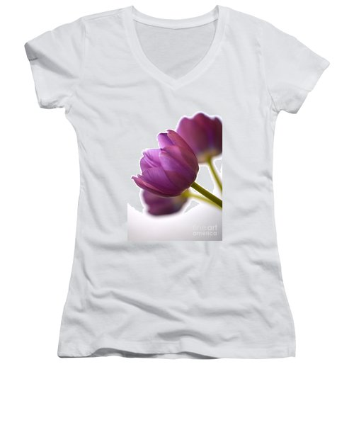 Simply Purple Women's V-Neck (Athletic Fit)