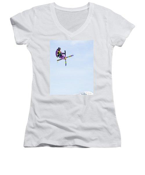 Ski X Women's V-Neck (Athletic Fit)