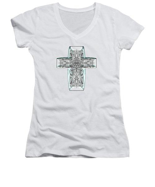 Snow Cross 7  Women's V-Neck