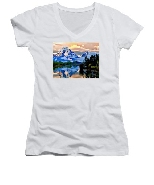 Some Place Some Where Women's V-Neck