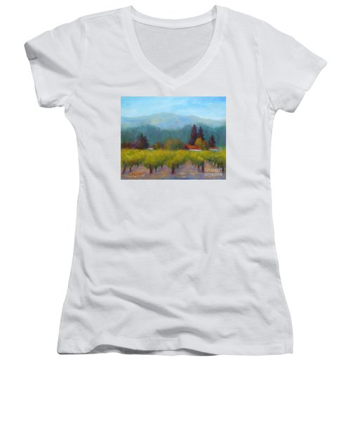 Sonoma Valley View Women's V-Neck