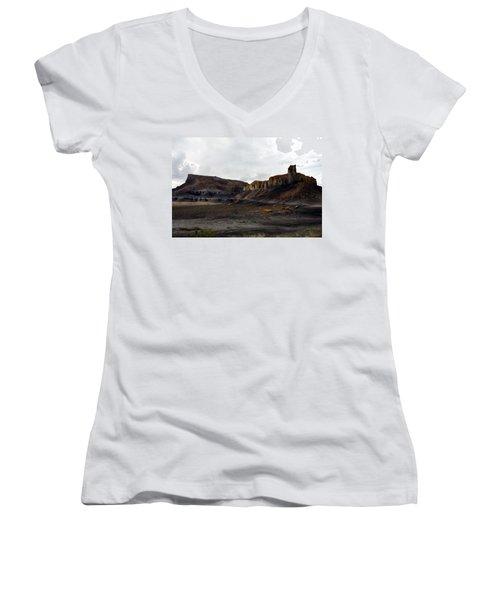 Source Of The Mud Flood Women's V-Neck T-Shirt