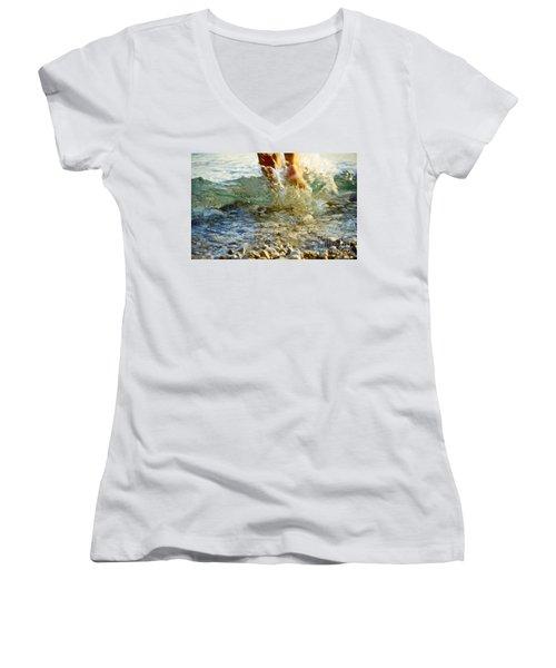 Splish Splash Women's V-Neck T-Shirt